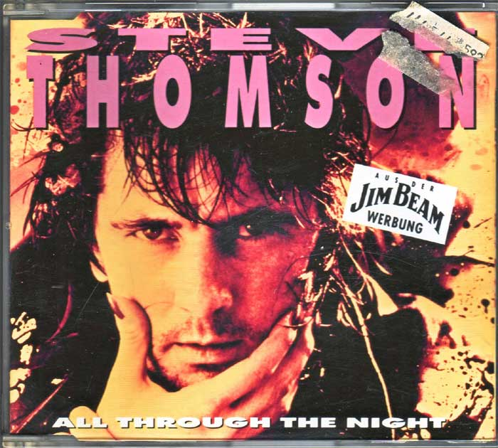 Steve Thomson - All Through The Night auf Musik-Maxi-CD