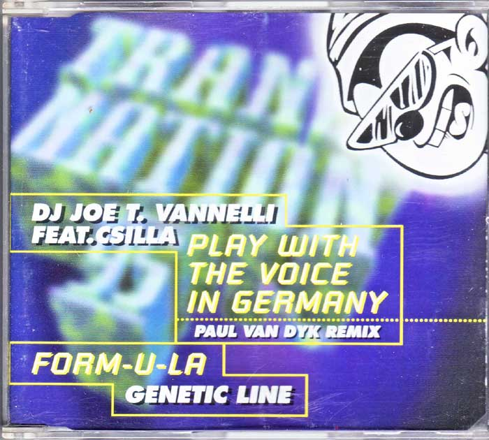 DJ Joe T.Vanelli Feat. Csilla auf Musik-CD