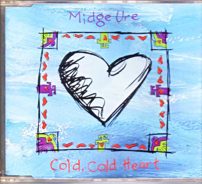 Midge Ure ‎– Cold Cold Heart auf Musik-CD