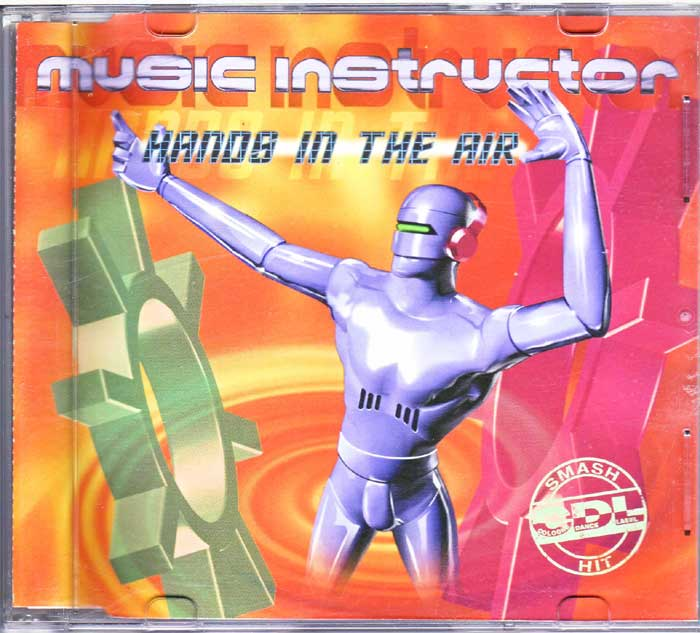 Music Instructor – Hands In The Air auf Musik-CD