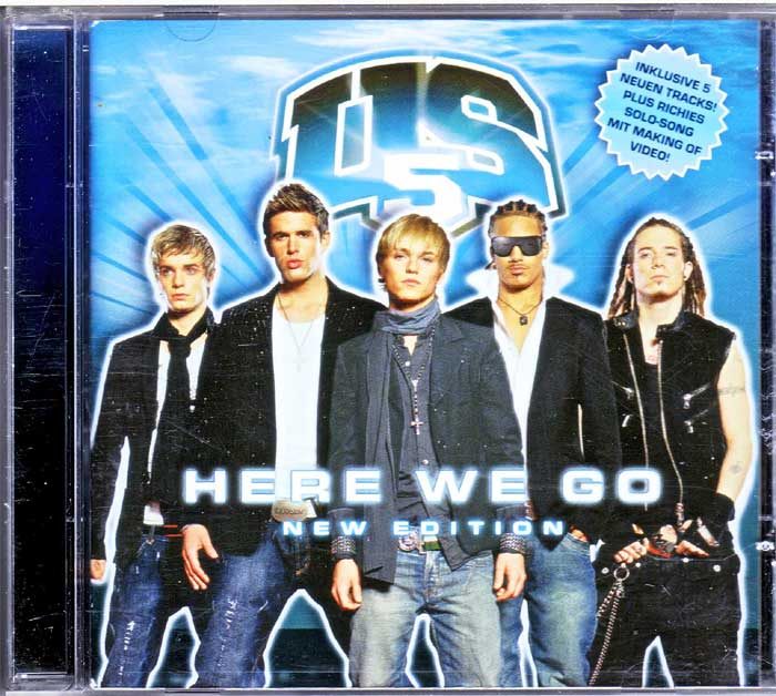 US5 - Here We Go auf Musik-CD