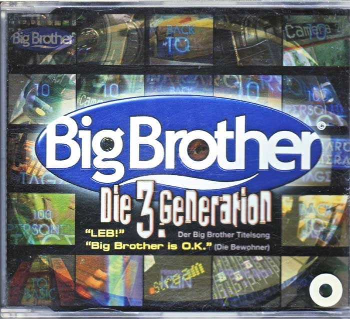 Big Brother die 3.Generation auf Musik-Maxi-CD