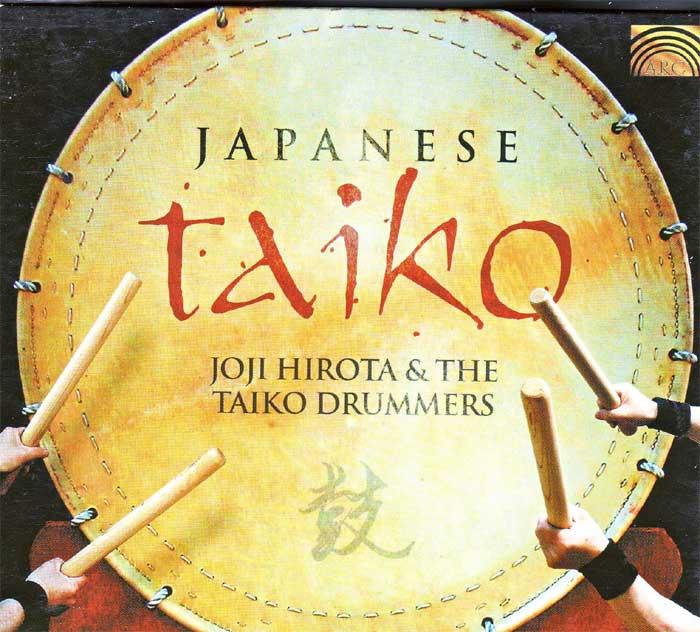Joji Hirota & The Taiko Drummers, Japanische auf Musik-Album