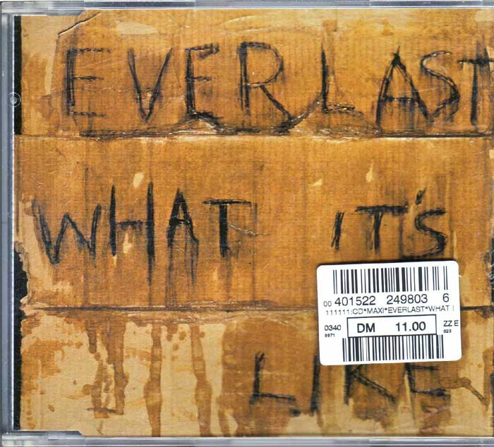 Everlast ‎– What It's Like auf Musik-Maxi-CD