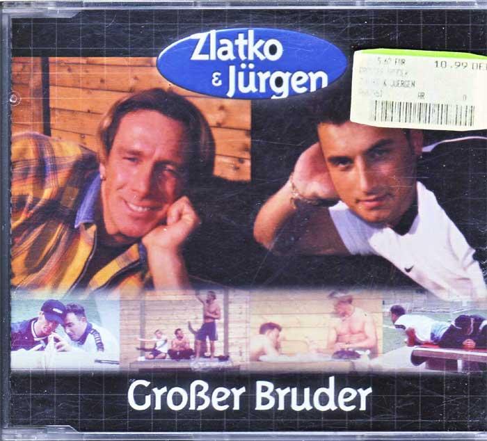 Zlatko & Jürgen - Großer Bruder auf Musik-Maxi-CD