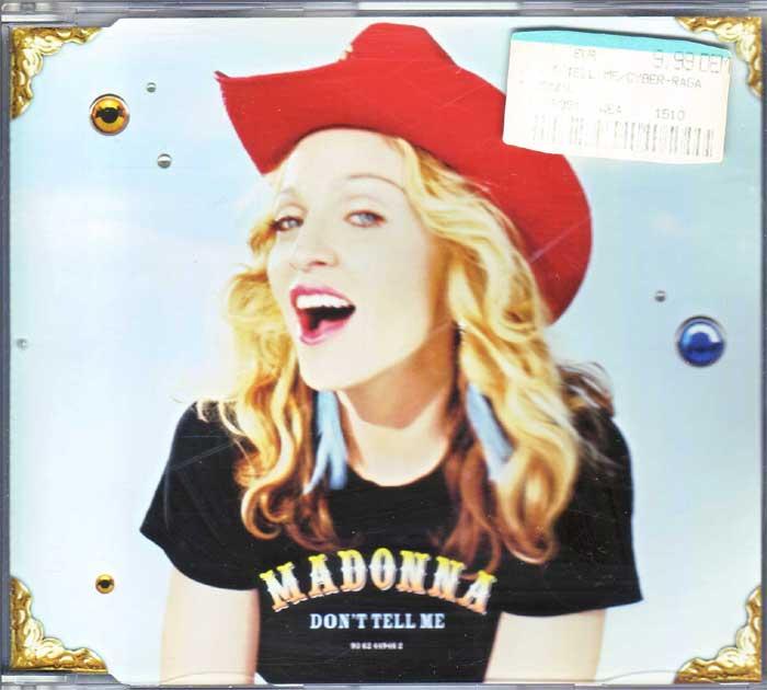 Madonna – Don't Tell Me Hitgiganten