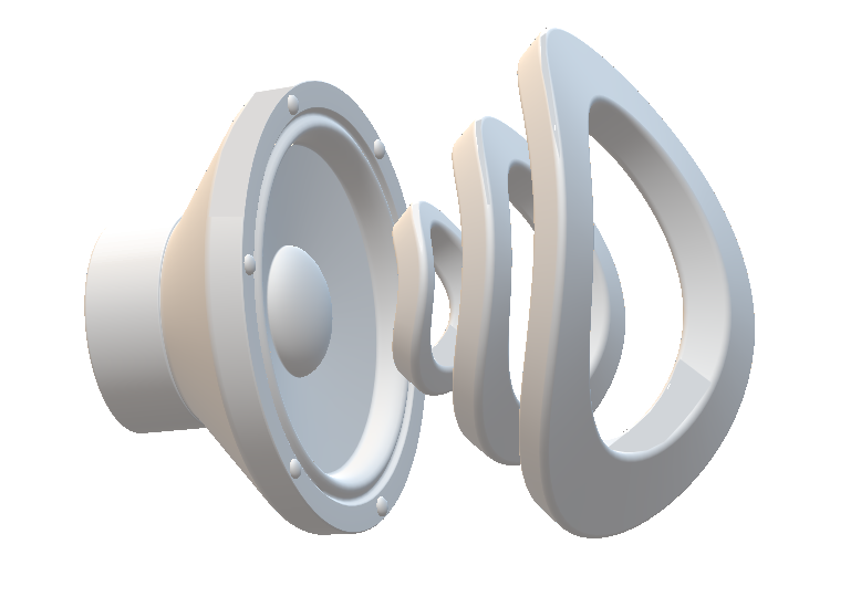 Bild vom Laut-Sprecher