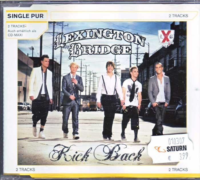 Lexington Bridge ‎– Kick Back auf Musik-Maxi-CD