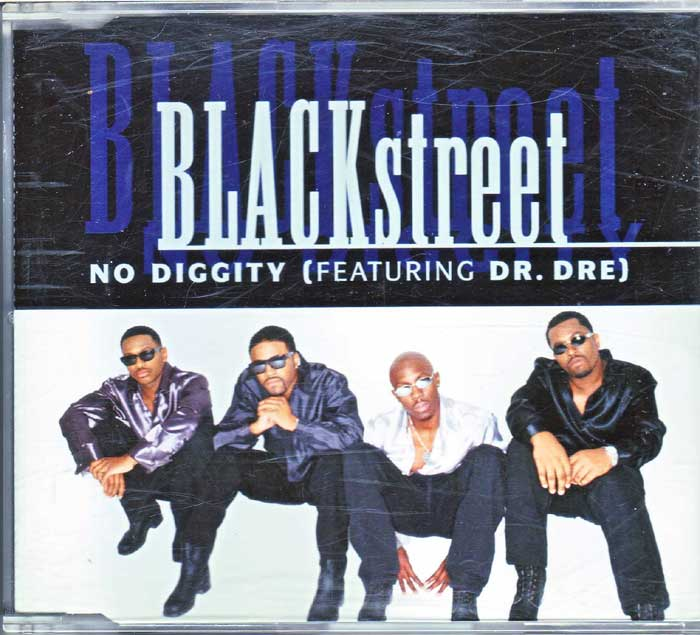 Blackstreet - No Diggity auf Musik-Maxi-CD