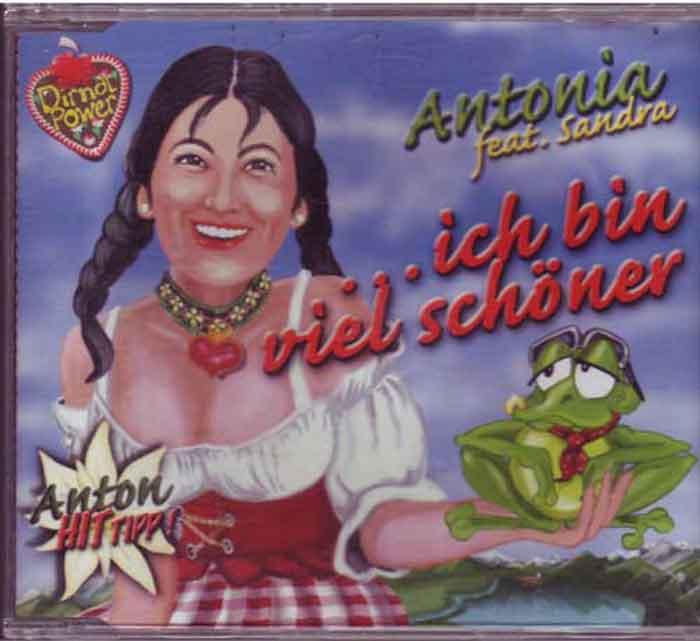 Antonia - Ich Bin Viel Schöner - Musik auf CD, Maxi-Single
