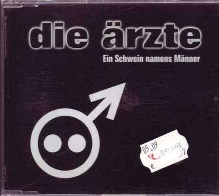 Die Ärzte – Ein Schwein Namens Männer - Musik auf CD, Maxi-Single