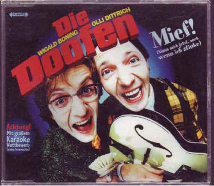 Die Doofen – Mief! - Musikszene auf CD, Maxi-Single