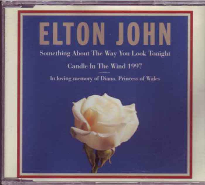 Elton John - Candle In The Wind 1997 - Musik auf CD, Maxi-Single