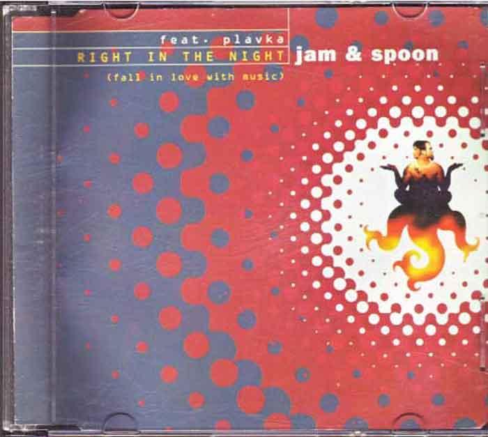 Jam & Spoon - Right In The Night - Musik auf CD, Maxi-Single