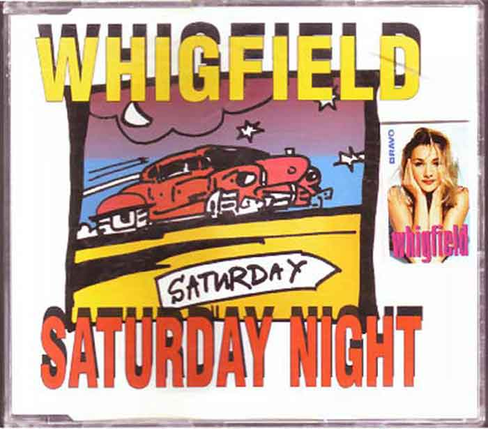 Whigfield ‎– Saturday Night - Musik auf CD, Maxi-Single