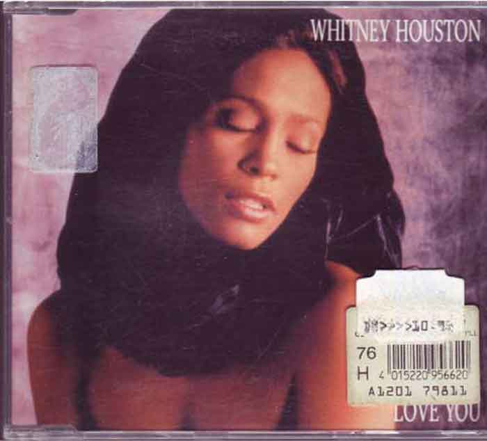 Whitney Houston ‎– I Will Always Love You - Musik auf CD, Maxi-Single