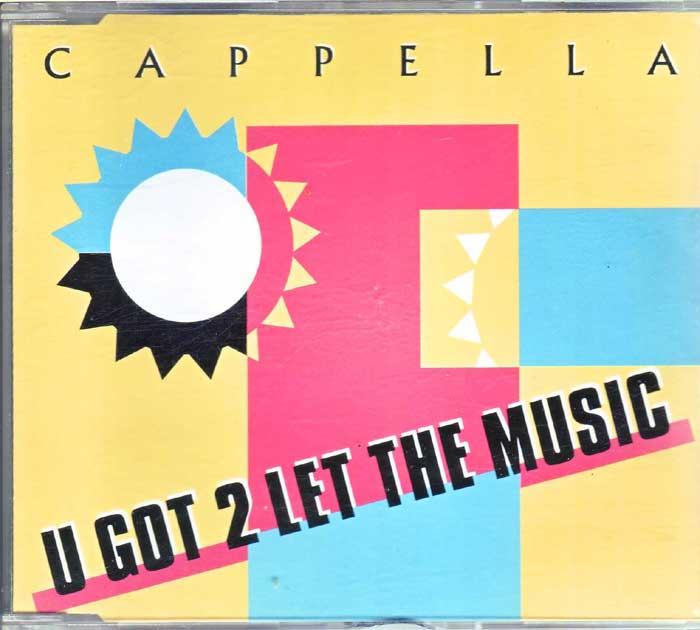 Cappella – U Got 2 Let The, Rocklegenden Maxi-CD