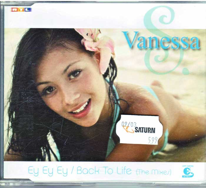 Vanessa S. - Ey Ey Ey Back To Life auf Maxi-CD
