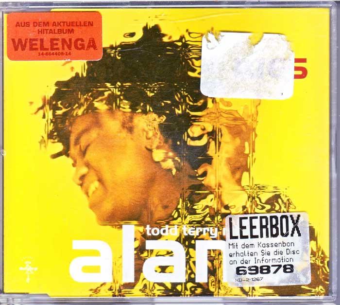 Alane - WES Todd Terry Remixes - Musik auf Maxi-CD
