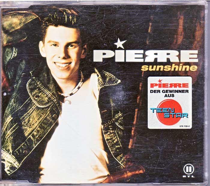Pierre - Sunshine - Musik auf Maxi-CD