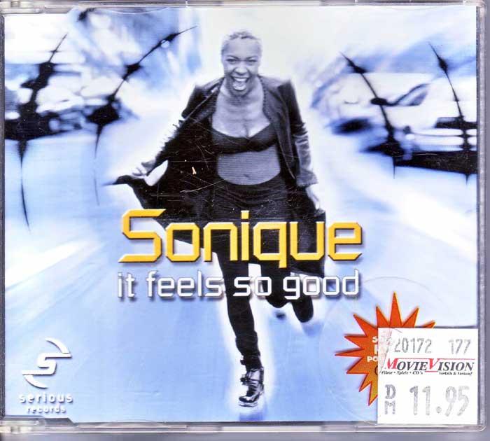 Sonique – It Feels So Good - Hobbykeller Maxi-CD