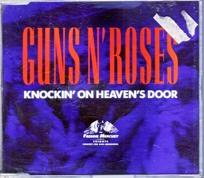 Guns N' Roses, Knockin On Heaven's Door, Maxi-CD