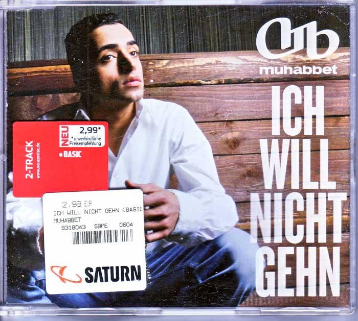 Muhabbet - Ich Will Nicht Gehn - Musik auf Maxi-CD