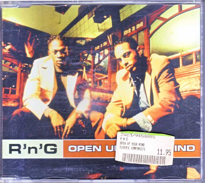 R'N'G - Open Up Your Mind - Musik auf Maxi-CD