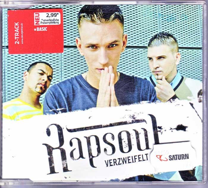 Rapsoul – Verzweifelt - Musik auf Maxi-CD