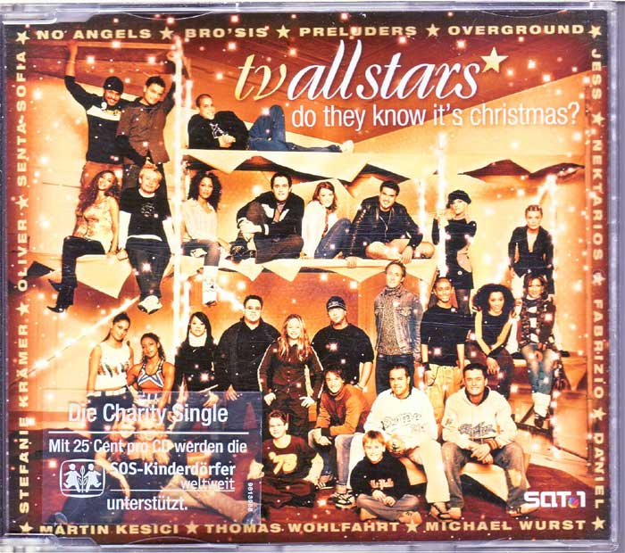 TV Allstars ‎– Do They Know It's Christmas? - Musik auf Maxi-CD