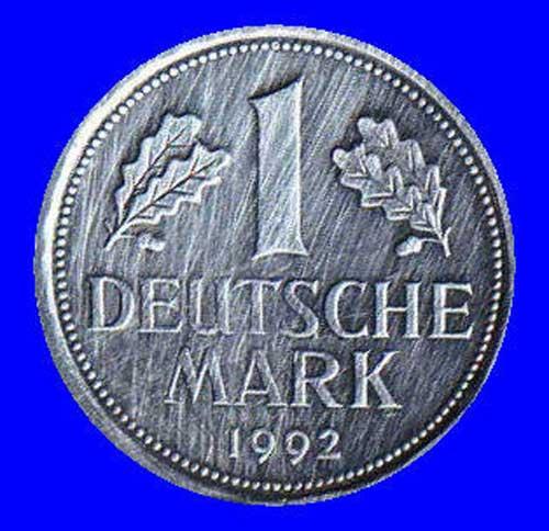 Bild von einer D-Mark von 1992