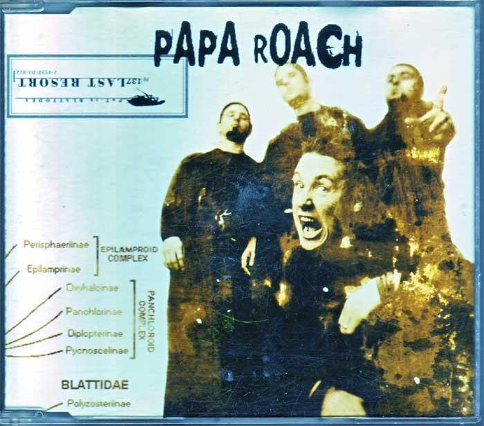 Papa Roach – Last Resort - Musik auf Maxi-CD