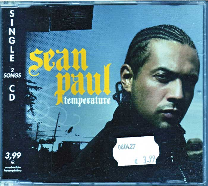 Sean Paul ‎– Temperature - Musik auf Maxi-CD