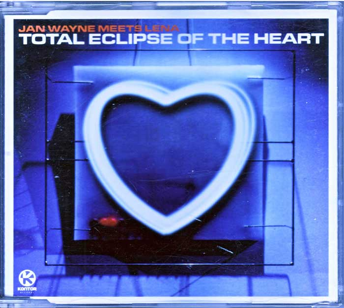 Jan Wayne Meets Lena ‎– Total Eclipse Of The Heart - Musik auf Maxi-CD