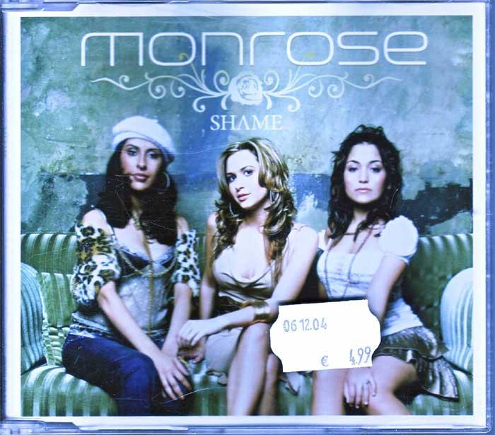 Monrose – Shame - Spitzensongs auf Maxi-CD
