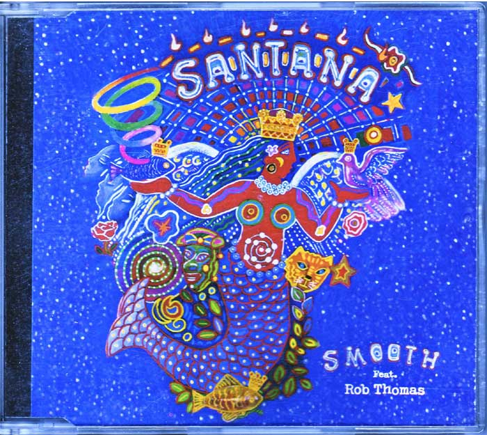Santana ‎– Smooth - Musik auf Maxi-CD