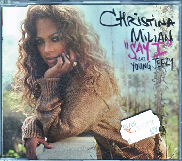 Christina Milian Feat. Young Jeezy ‎– Say I - Musik auf CD, Maxi-Single