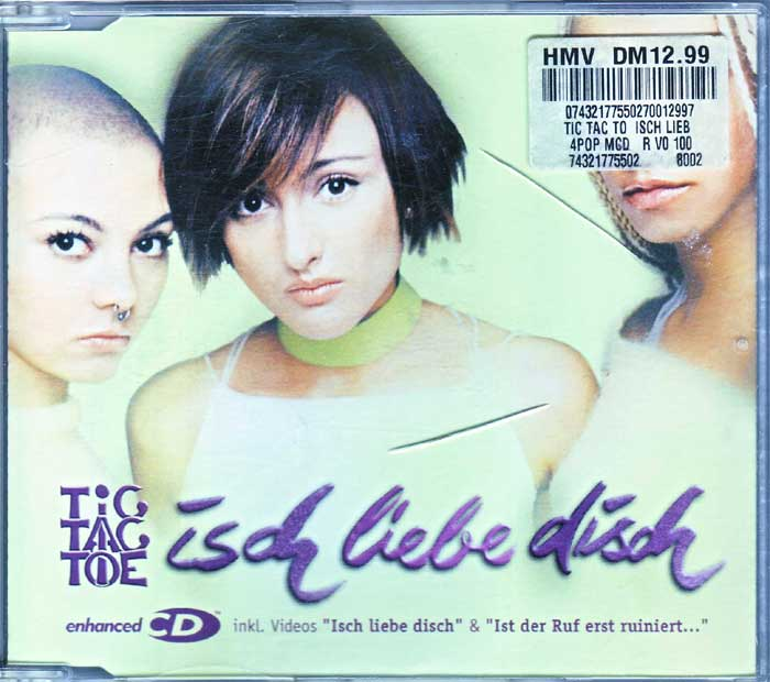 Tic Tac Toe - Isch Liebe Disch - Musik auf CD, Maxi-Single