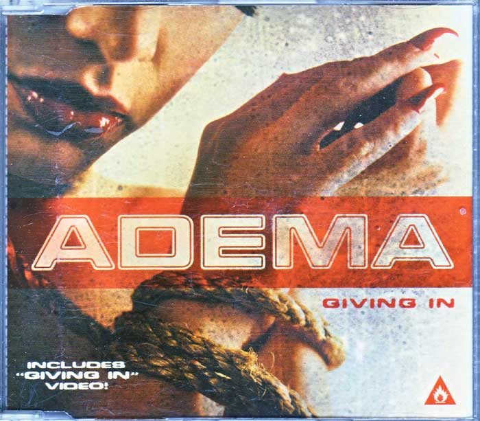 Adema ‎– Giving In - Musik auf CD, Maxi-Single