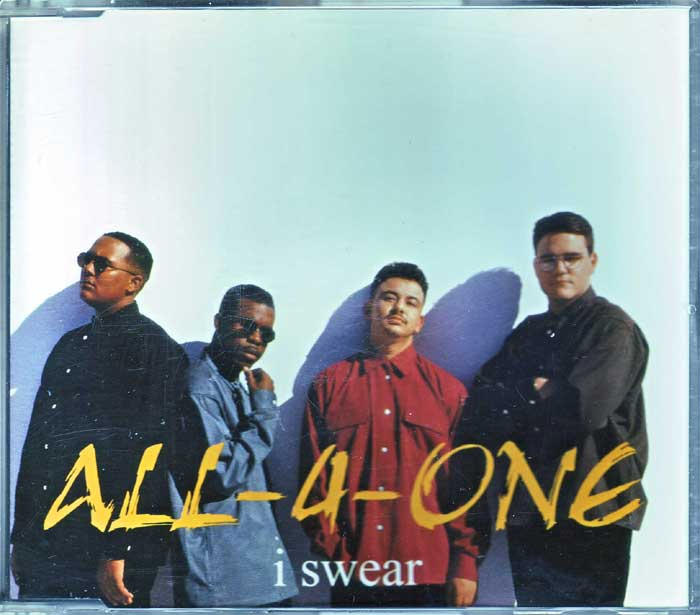 All-4-One ‎– I Swear - Musik auf CD, Maxi-Single
