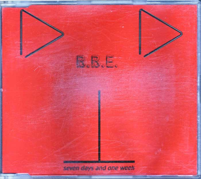 B.B.E - Seven Days And One Week - Musik auf CD, Maxi-Single