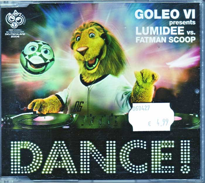 Goleo VI presents Lumidee- Musik auf CD, Maxi-Single
