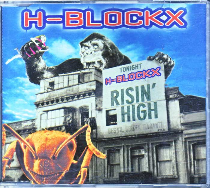 H-Blockx ‎– Risin' High - Musik auf CD, Maxi-Single