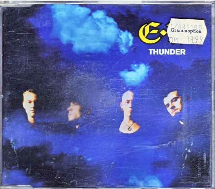 East 17 – Thunder - Musik auf CD, Maxi-Single
