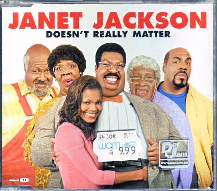 Janet Jackson - Doesn't Really Matter, Flohmarkt
