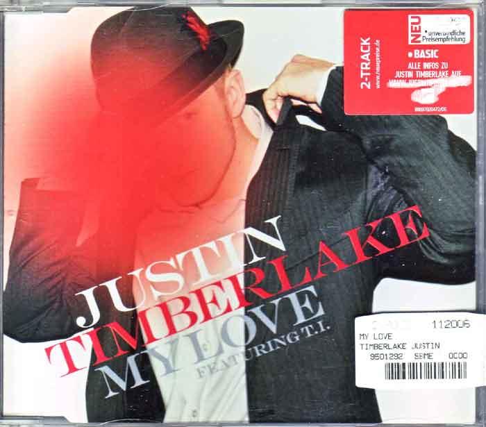 Justin Timberlake – My Love - Musik auf CD, Maxi-Single
