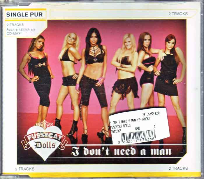 Pussycat Dolls – I Don't Need A Man - Musik auf CD, Maxi-Single