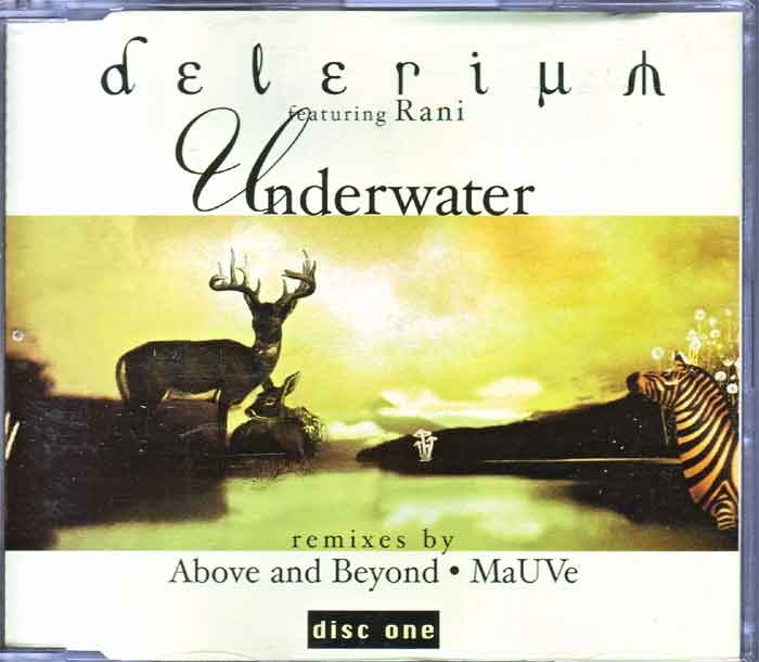 Delerium Featuring Rani ‎– Underwater - Musik auf CD, Maxi-Single
