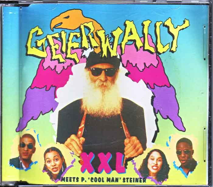 Geierwally - XXL Meets P. Cool Man Steiner - Musik auf CD, Maxi-Single