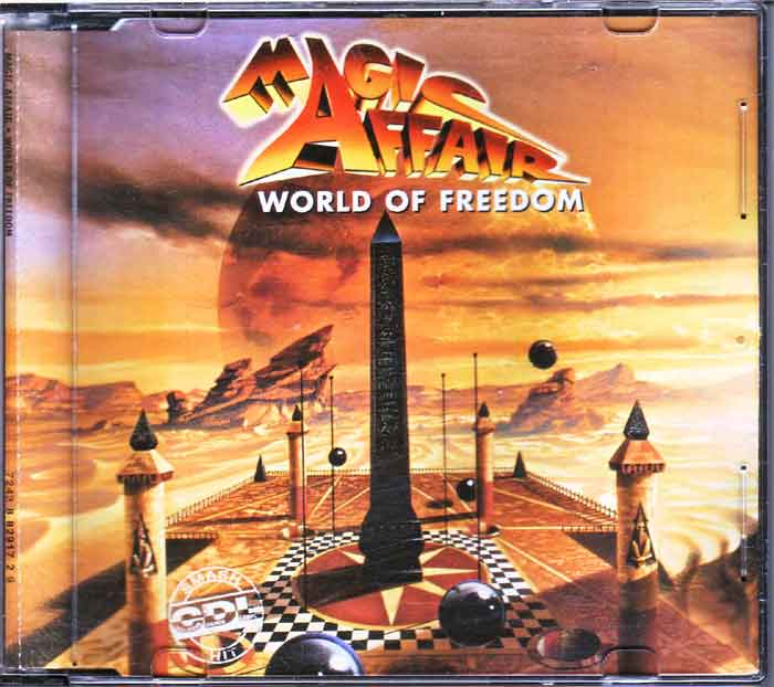 Magic Affair ‎– World Of Freedom - Musik auf CD, Maxi-Single